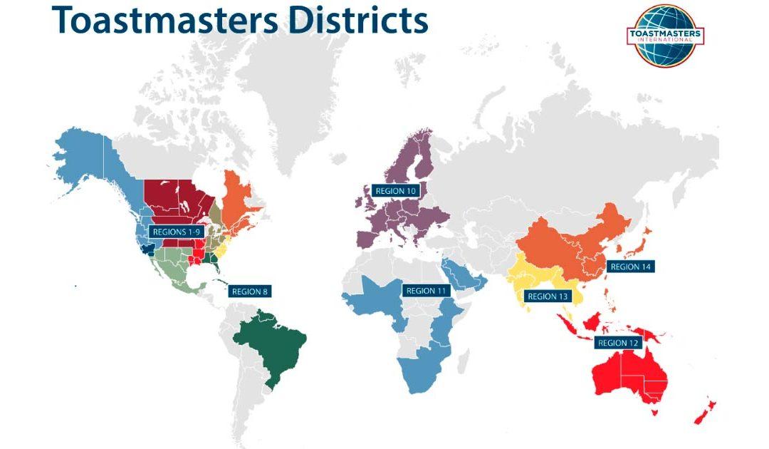 Geografía Toastmasters
